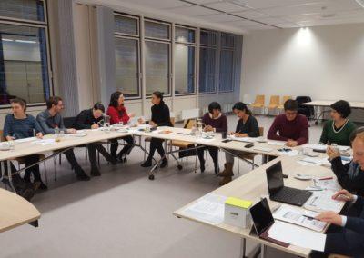 Kennenlernen bei workshops