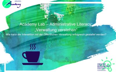Administrative Literacy oder: Wie kann die Interaktion mit der öffentlichen Verwaltung erfolgreich gestaltet werden?