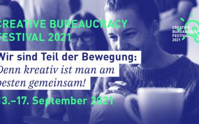 WITI erneut Partner bei Creative Bureaucracy Festival