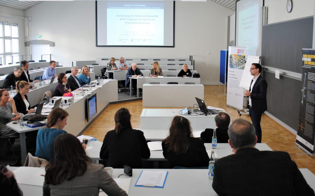 """Rückblick: Town & Gown: Erfolgreicher Workshop """"Hochschule und Standort"""" in Koblenz (09.11.2018)"""