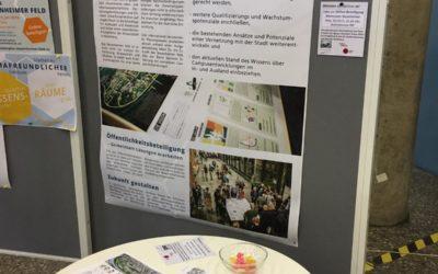 Campus auf dem Weg in die Zukunft:  Interaktive Infoveranstaltung zum Masterplanprozess Campus Im Neuenheimer Feld, Universität Heidelberg?