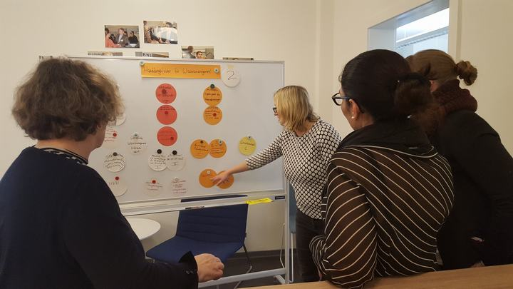 """Workshop """"Wissensmanagement"""" mit Transfer Together"""
