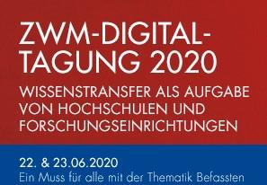 WITI präsentiert sich bei Transfertagung ZWM@Home State of the Art 2020